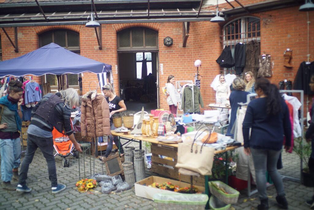 Flohmarkt in der Alten Post Eberswalde