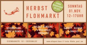 Herbstflohmarkt in der Alten Post